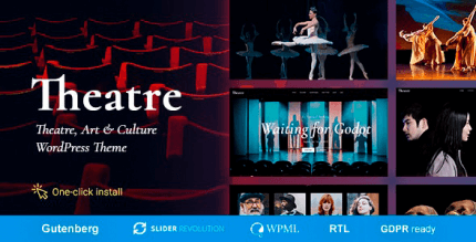 Theater 1.2.0 – Concert & Art Event Entertainment Theme