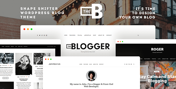 TheBlogger 2.1.7 – A WordPress Blogging Theme for Bloggers