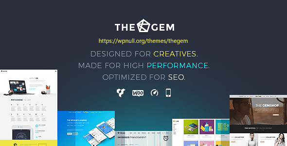 TheGem 5.0.0 NULLED – Creative Multi-Purpose High-Performance WordPress Theme