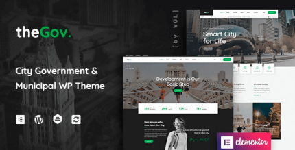TheGov 1.2.1 NULLED – Municipal and Government WordPress Theme