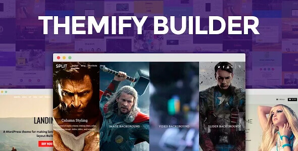 Themify Builder 5.1.3 – Drag & Drop Page Builder for WordPress + Addons