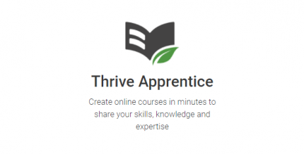 Thrive Themes Apprentice 2.4.2 NULLED
