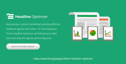 Thrive Themes Headline Optimizer 1.3.9.1 NULLED