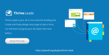 Thrive Themes Leads 2.4.1.1 NULLED