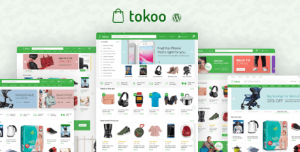 Tokoo 1.1.10 – Electronics Store WooCommerce Theme for Affiliates, Dropship and Multi-vendor Websites