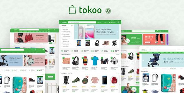 Tokoo 1.1.8 – Electronics Store WooCommerce Theme for Affiliates, Dropship and Multi-vendor Websites