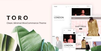 Toro 1.2.0 – Clean Minimal WooCommerce Theme