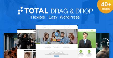 Total 5.1.1 NULLED – Responsive Multi-Purpose WordPress Theme
