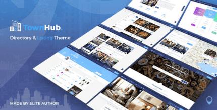TownHub 1.5.9 – Directory & Listing WordPress Theme