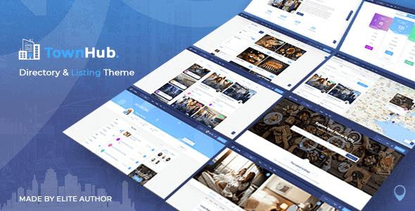 TownHub 1.5.8 – Directory & Listing WordPress Theme