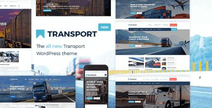 Transport 3.2.1 – WP Transportation & Logistic Theme