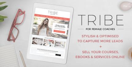 Tribe Coach 1.6 – Feminine Coaching Business WordPress Theme