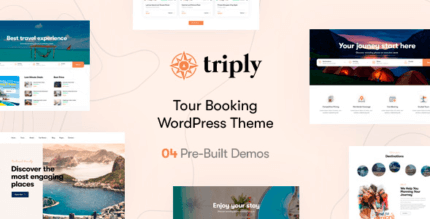 Triply 2.1.0 – Tour Booking WordPress Theme