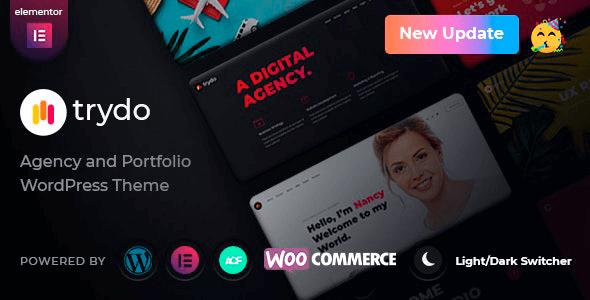 Trydo 1.1.1 – Creative Agency & Portfolio WordPress Theme