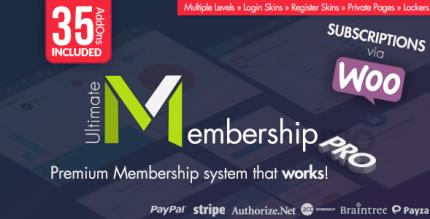 Ultimate Membership Pro 9.9.1 NULLED
