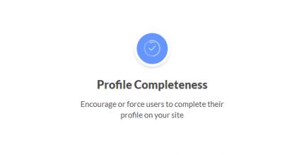 Ultimate Member Profile Completeness 2.2.1