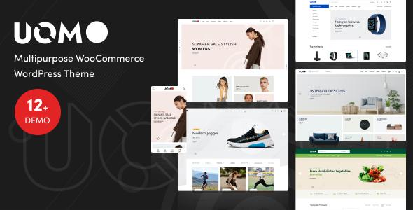 Uomo 2.0.1 – Multipurpose WooCommerce WordPress Theme