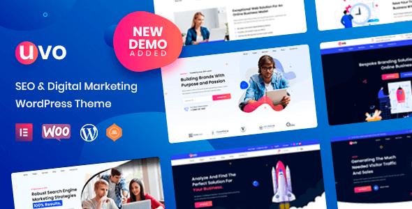 UVO 1.0.2 – SEO & Digital Marketing Theme
