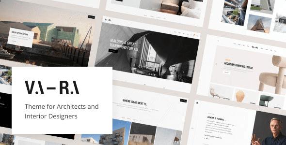 Vara 1.2 – Architecture WordPress Theme