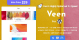 Veen 2.1.4 – Minimal & Lightweight Blog for WordPress