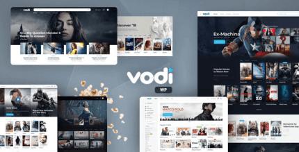 Vodi 1.2.6 – Video WordPress Theme for Movies & TV Shows