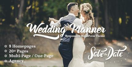 Wedding Planner 4.6 – Responsive Wedding Theme