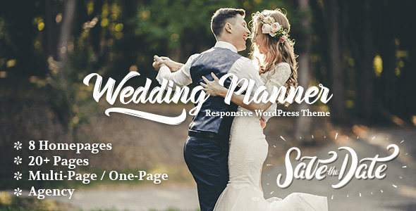 Wedding Planner 4.4 – Responsive Wedding Theme