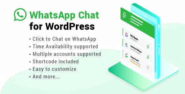 WhatsApp Chat WordPress 3.1.1
