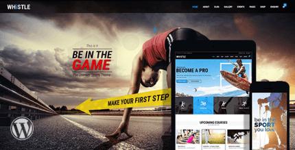 Whistle Sport 2.2 – Sports Club Theme
