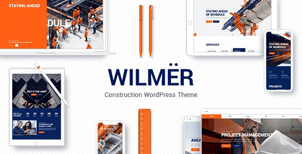 Wilmer 2.4.2 NULLED – Construction Theme