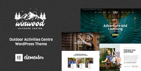 Winwood 1.5.0 – Sports & Outdoor WordPress Theme