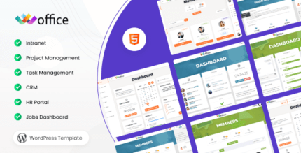 Woffice 4.0.2 – Intranet/Extranet WordPress Theme