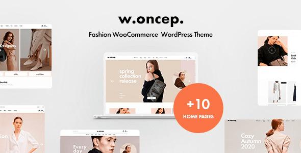 Woncep 1.5.2 – Fashion WooCommerce WordPress Theme