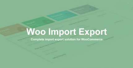Woo Import Export 5.5.1 NULLED