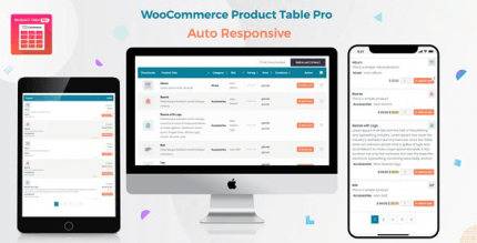 Woo Product Table Pro 7.0.6 NULLED – WooCommerce Product Table view solution