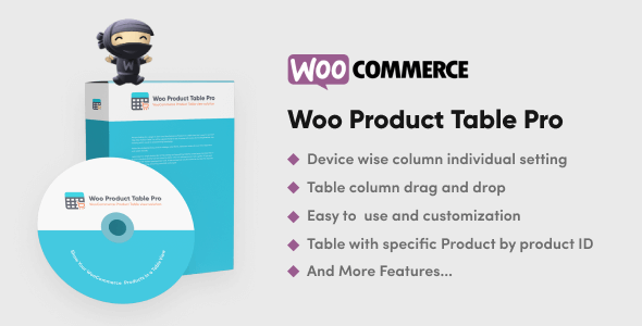 Woo Product Table Pro 7.0.7 NULLED – WooCommerce Product Table view solution