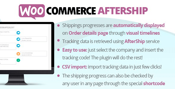WooCommerce AfterShip 8.4 NULLED