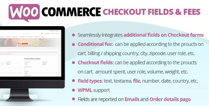 WooCommerce Checkout Fields & Fees 8.3 NULLED