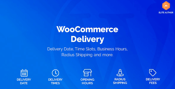WooCommerce Delivery 1.1.24 – Delivery Date & Time Slots