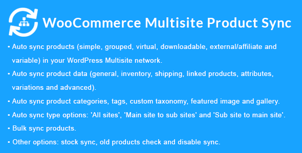 WooCommerce Multisite Product Sync 1.7.0
