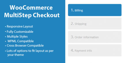 WooCommerce MultiStep Checkout Wizard 3.7.3