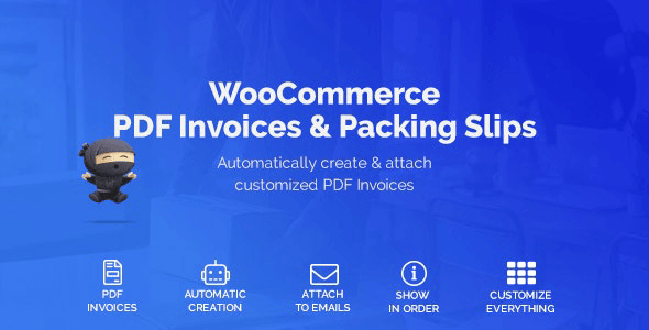 WooCommerce PDF Invoices & Packing Slips 1.4.1