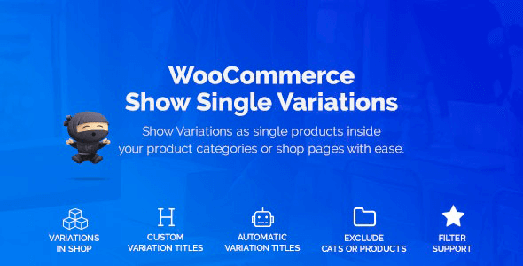 WooCommerce Show Variations as Single Products 1.3.15