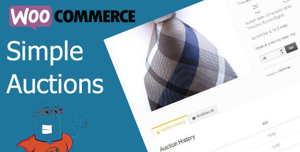 WooCommerce Simple Auctions 2.0.1
