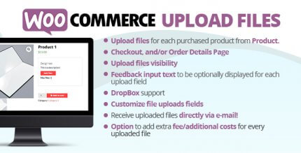 WooCommerce Upload Files 61.9 NULLED