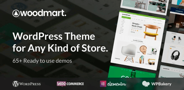 WoodMart 6.1.5 NULLED – Responsive WooCommerce WordPress Theme