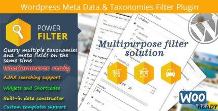MDTF 2.2.8.1 – WordPress Meta Data & Taxonomies Filter