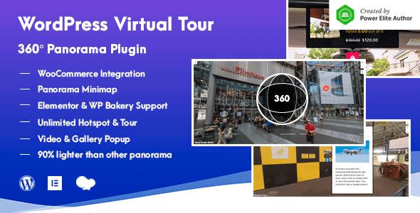 WordPress Virtual Tour 360 Panorama Plugin 1.0.8