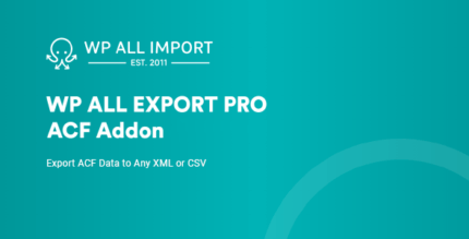 WP All Export ACF Export Add-On Pro 1.0.2