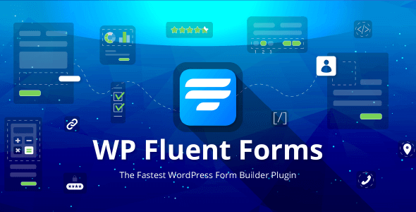 WP Fluent Forms Pro 4.2.0 NULLED – The most advanced, drag and drop form builder plugin for WordPress